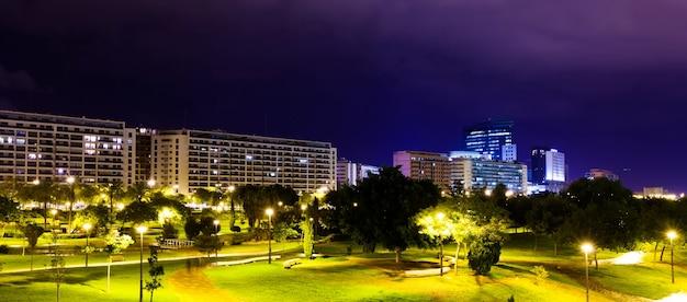 Dzielnica mieszkalna w walencji, hiszpania