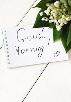 Dzień dobry tekst i śniadanie