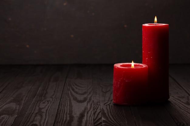 Dzień pamięci usa i płonąca świeca