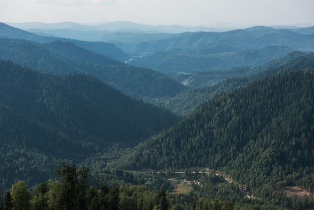 Dzień piękna w górach