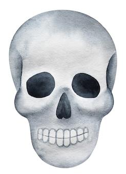Dzień śmierci. piękny rysunek akwarela