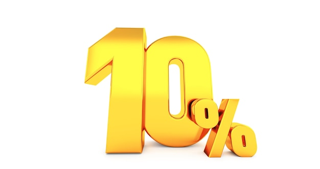 Dziesięć 10 procent.