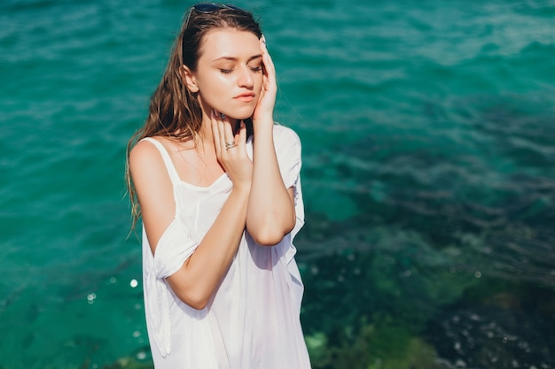 Dziewczyna nad morzem