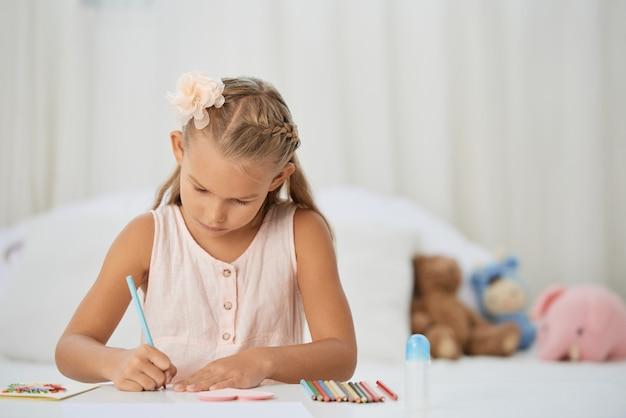 Dziewczyna rysunek