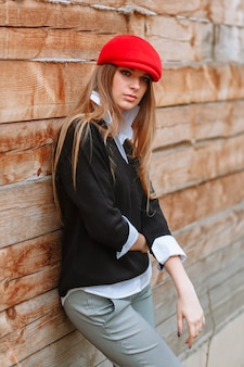 Dziewczyna w czerwonym kapturze