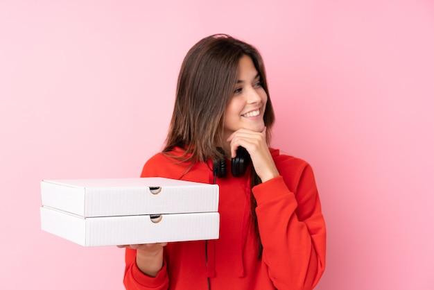 Dziewczyna z pizzą