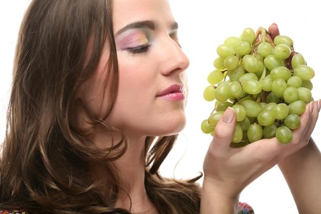 Dziewczyna z winogronami