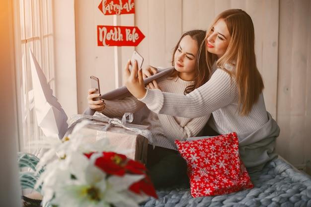 Dziewczyny z prezentami
