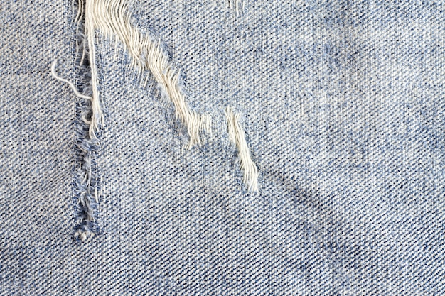 Dżinsy podarte tło, denim tekstura.