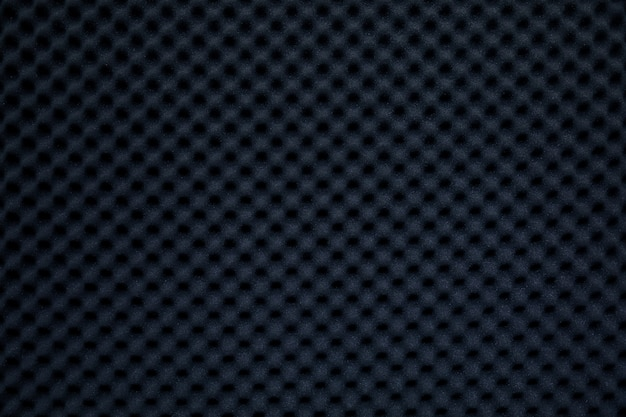 Dźwiękoszczelna ściana w studiu dźwiękowym, tło dźwiękochłonnej gąbki