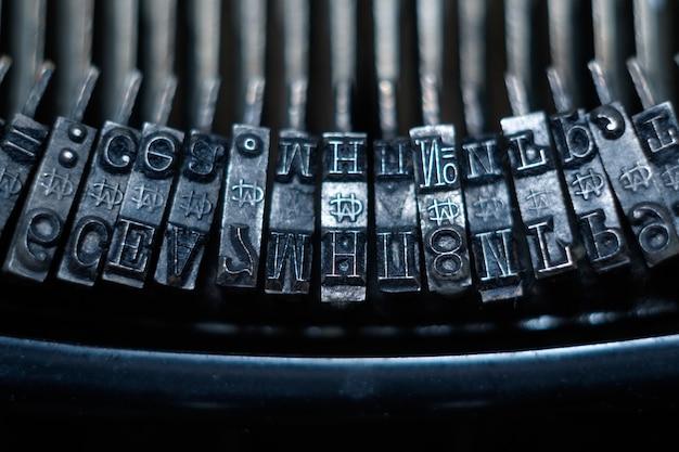 Dźwignie maszyny do pisania