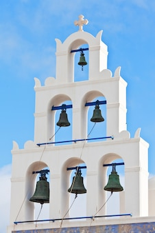 Dzwon kościelny w santorini