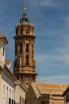 Dzwonnica kościoła san sebastian. antequera. hiszpania.
