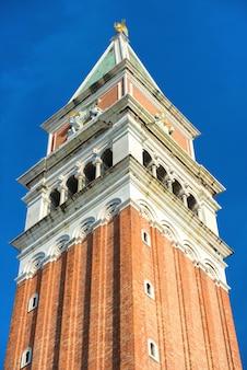 Dzwonnica san marco, dzwonnica katedry świętego marka na placu w wenecji