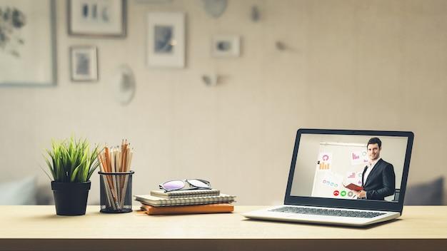 E-learning i koncepcja spotkania prezentacji biznesowych online