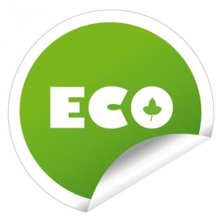 Eco naklejka