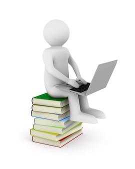 Edukacja online na białym