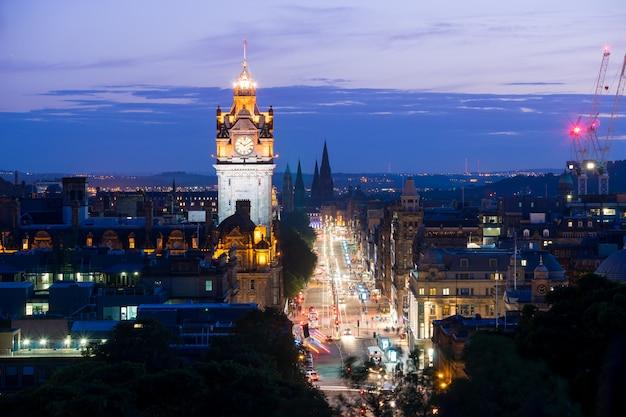 Edynburg, scoltland, wielka brytania