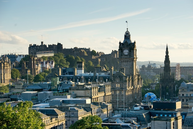 Edynburg, szkocja, wielka brytania