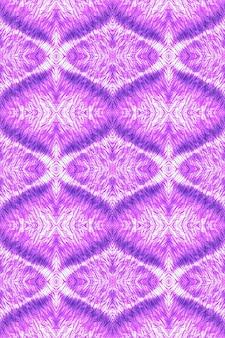 Efekt płynnej akwareli. fioletowe malarstwo abstrakcyjne boho. wzór krawat barwnika.