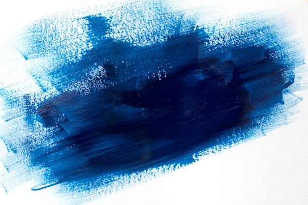 Efekt pociągnięcia pędzlem w kolorze niebieskim