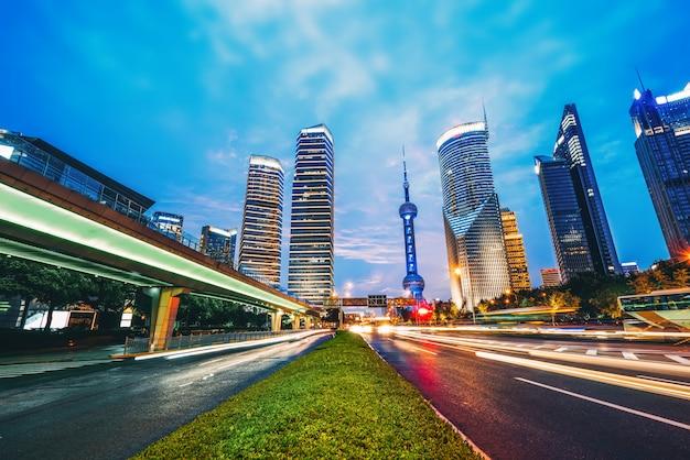 Efekt prędkości ruchu z city night