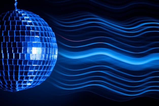 Efekt świetlny kuli disco