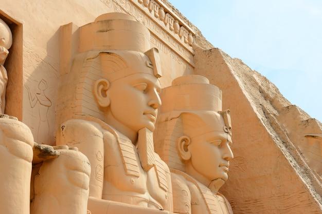 Egipski posąg