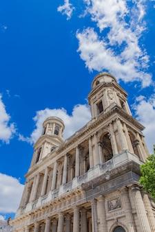 Eglise saint-sulpice w paryżu