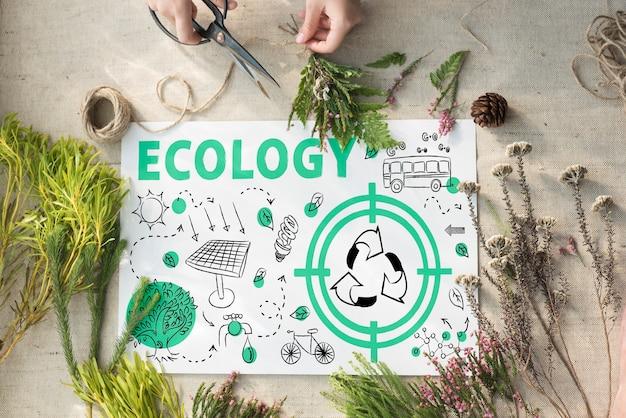 Ekologia przyjazna energia środowisko zrównoważona koncepcja