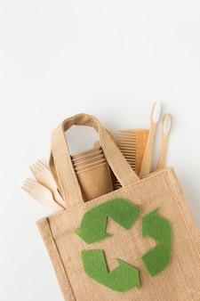 Ekologiczna torba na biurko