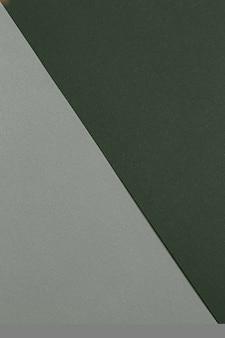 Ekologiczne papierowe dwukolorowe tło w zielonych naturalnych kolorach zielona energia elegancki styl i miejsce na...