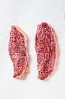 Ekologiczne steki z wołowiny picanha