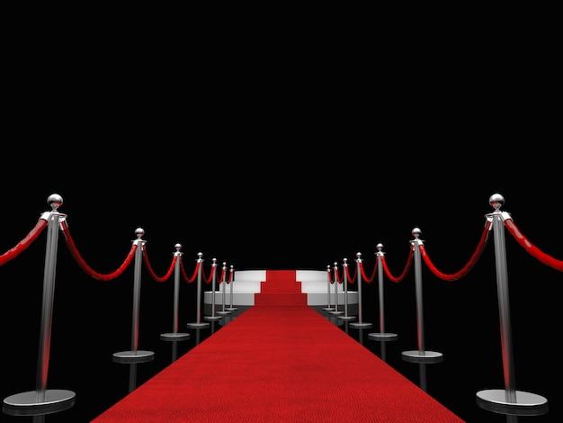 Ekskluzywny czerwony dywan