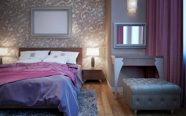 Ekskluzywny zestaw mebli do sypialni