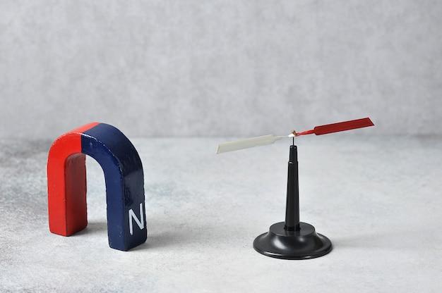 Eksperymenty fizyczne - igła z magnesem i kompasem