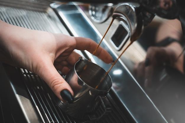 Ekspres do kawy barista kawiarnia