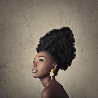 Ekstremalne piękno afro