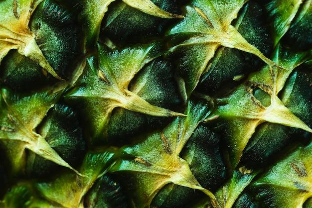 Ekstremalne zbliżenie skórki ananasa