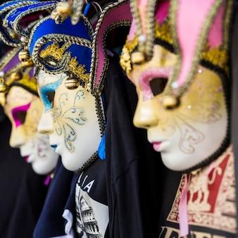 Elegancka maska weneckiego karnawału