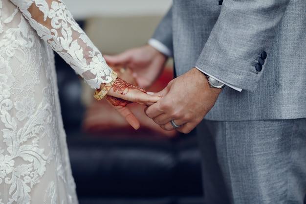 Eleganckie indyjskie wesele