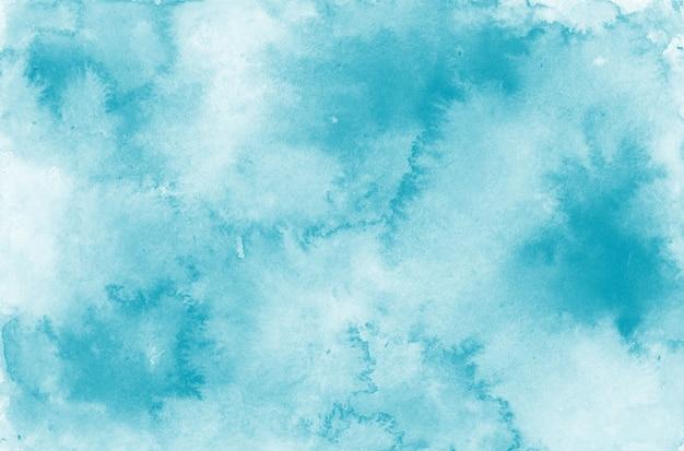 Eleganckie niebieskie tło akwarela