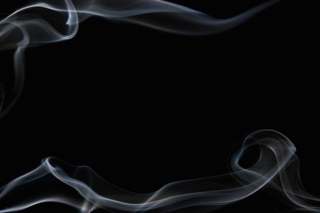 Eleganckie tło tapety dymu, ciemny design