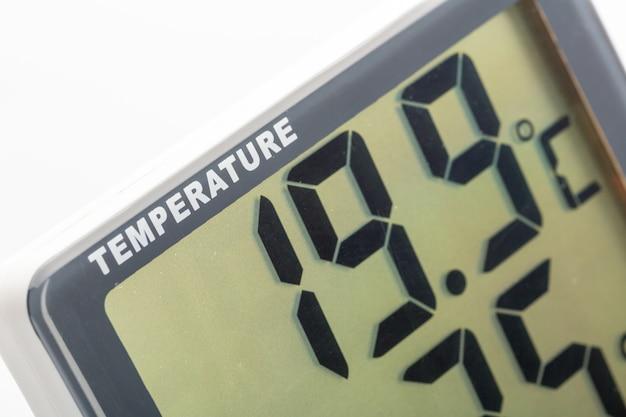 Elektroniczny termometr zbliżenie