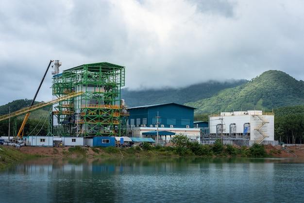 Elektrownia na biomasę w tajlandii i odbicie wody
