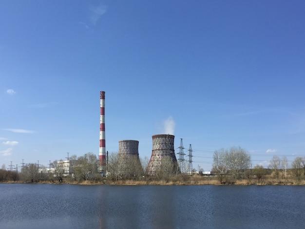 Elektrownia na jeziorze