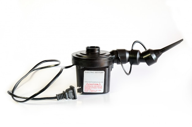 Elektryczne narzędzie do pompowania powietrza do nadmuchiwania basenu lub łóżka