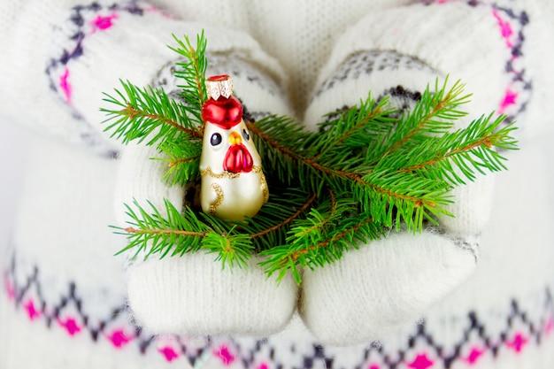 Element dekoracji nowego roku