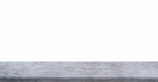 Element projektu tekstura kamienia i tło tekstura skały koncepcja tekstury cementu półka podłogowa do wyświetlania reklam komercyjnych ścieżka przycinająca