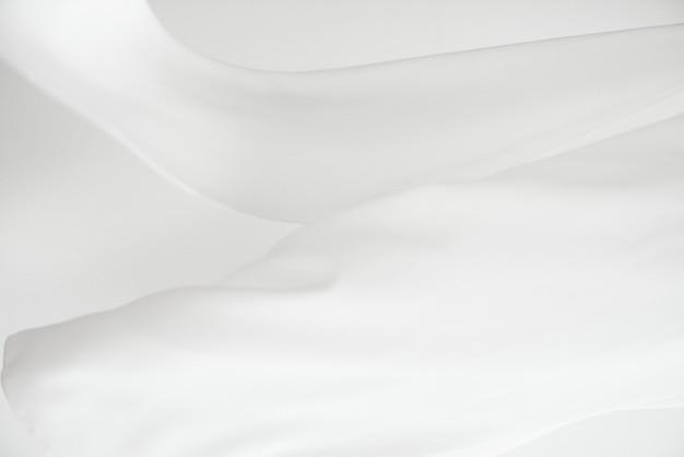 Element projektu tła z białej tkaniny